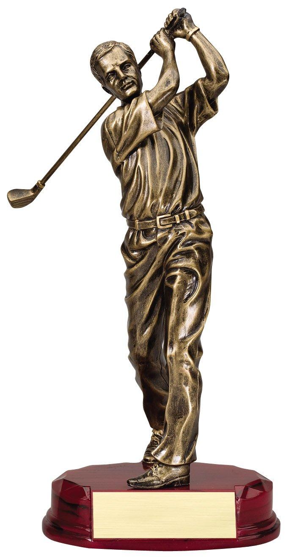 """Bronze Series on Rosewood Finish Base - Swing    Large:  RF3321C - 12.25"""" tall -  $49    Medium:  RF3321B - 10.75"""" tall -  $45    Small:  RF3321A - 9.75"""" tall -  $40"""