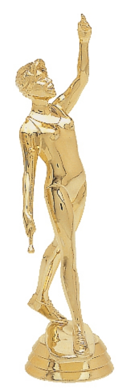 "Baton Twirler - Female   660-G - 5"" tall"