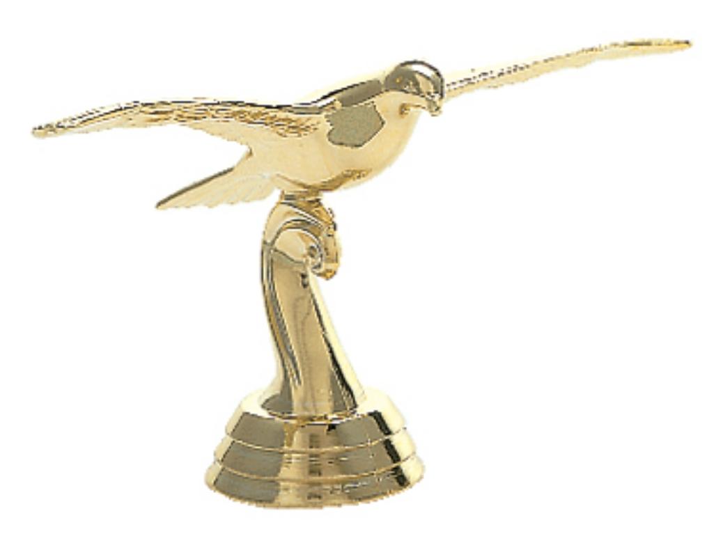 """Pigeon in flight   374-G - 2.75"""" tall"""