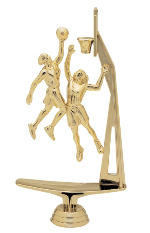 """Double Action with Basket - Female   1482-G - 8.5"""" tall"""