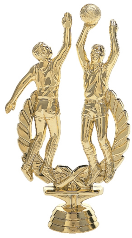 """Wreath Double Action - Male   1443-G - 6.25"""" tall"""