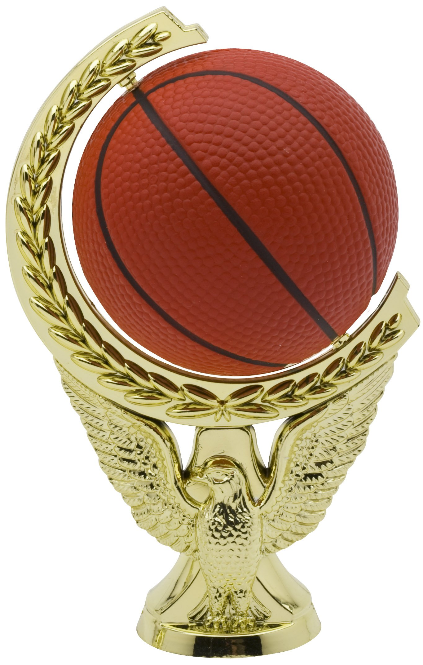 """Spinning Soft Ball Basketball   SPIN9-03 - 5"""" tall - with Spinning Basketball"""