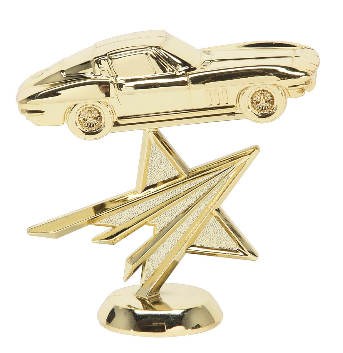 "Corvette - Star   4209-G - 4"" tall"