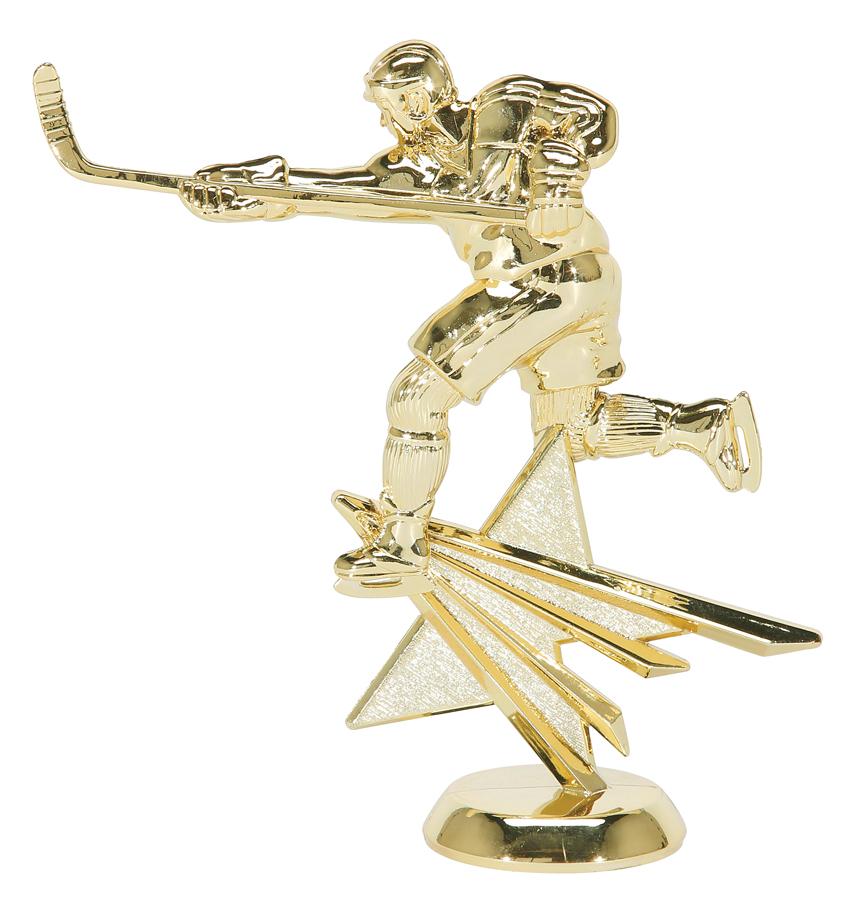 """Star Hockey - Male   2541-G - 6"""" tall"""