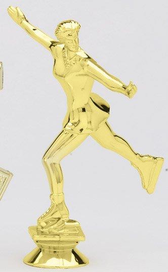"Ice Skater - Female   F1501 - 5.5"" tall"