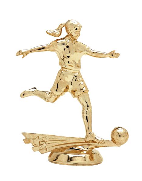"""All Star Soccer - Female   6514-G - 5"""" tall"""