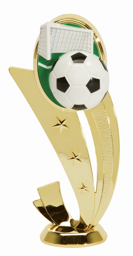 """Sport Scene - Soccer   3554-G - 6.5"""" tall"""