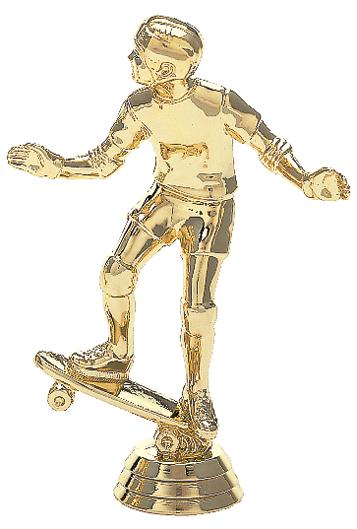 "Skateboarder   565-G - 5"" tall"