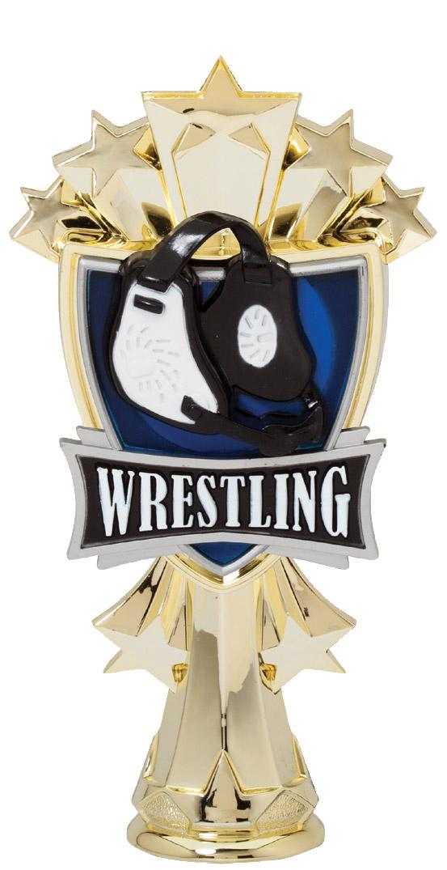 """All Star Wrestling   MF3278 - 6.5"""" tall"""