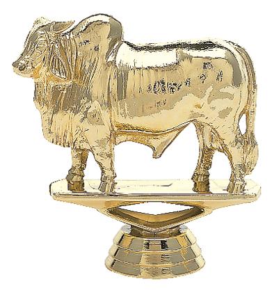 """Brahma Bull   734-G - 3"""" tall"""