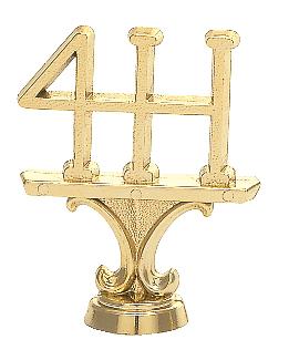 """4-H Figure   222-G - 2.5"""" tall"""