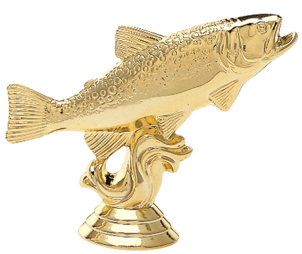 """Trout   458-G - 3.5"""" tall"""
