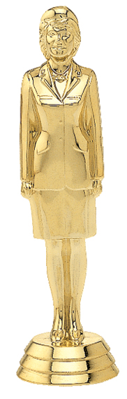 "Military - Female   549-G - 5.25"" tall"