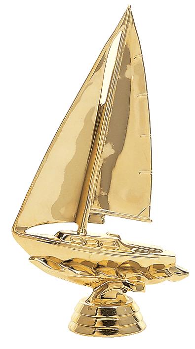 """Sailboat   5034-G - 6"""" tall  4021-G - 4"""" tall"""