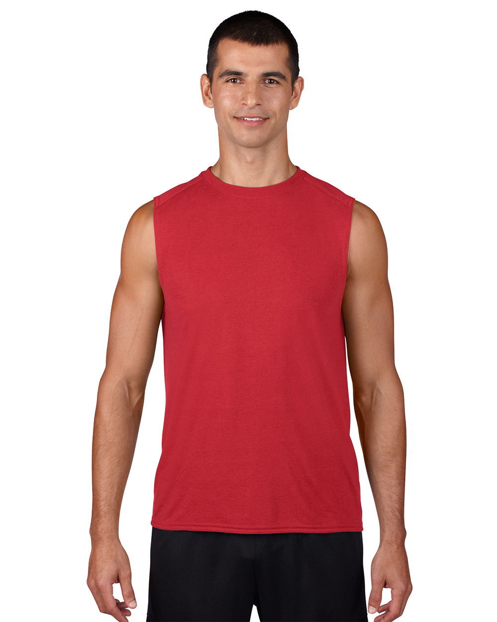 Gildan 42700     Adult Sleeveless Performance    4.5 oz. 100% Polyester (Cotton Feel)