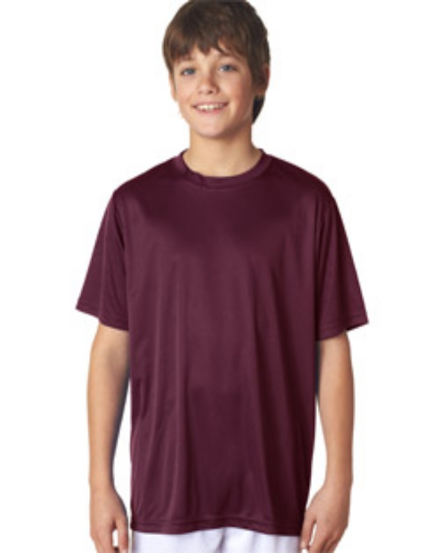 A4 NB3142     Youth Cooling Performance    4.0 oz. 100% Polyester