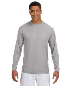 A4 N3165/NB3165     Adult/Youth Long Sleeve Performance    4.0 oz. 100% Polyester