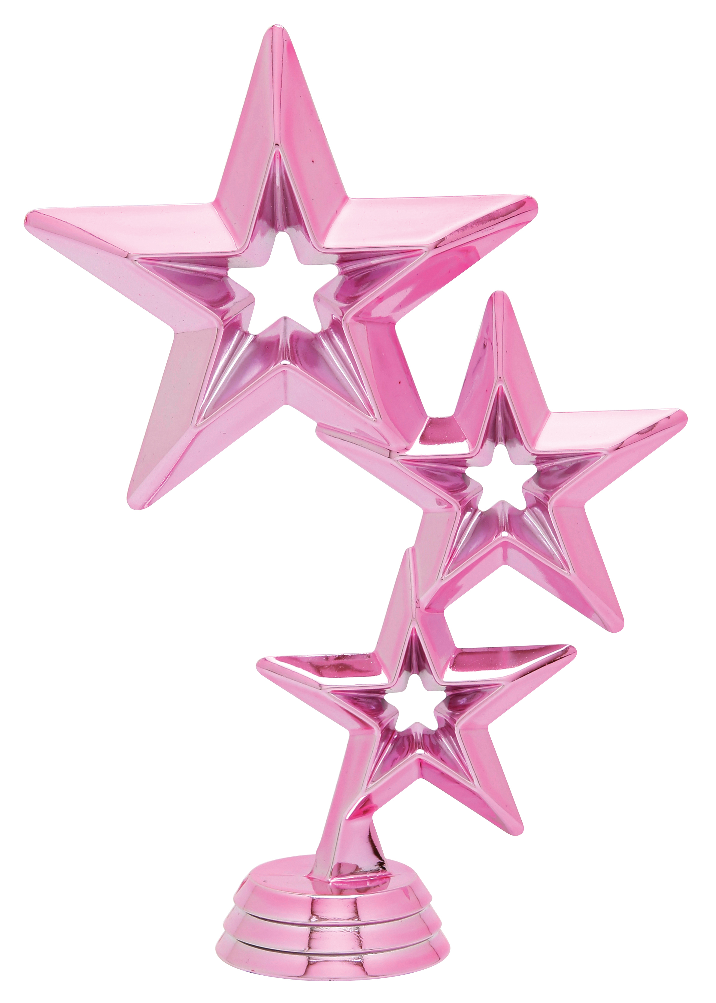 """Star Cluster - Pink   5061-H - 6"""" tall"""
