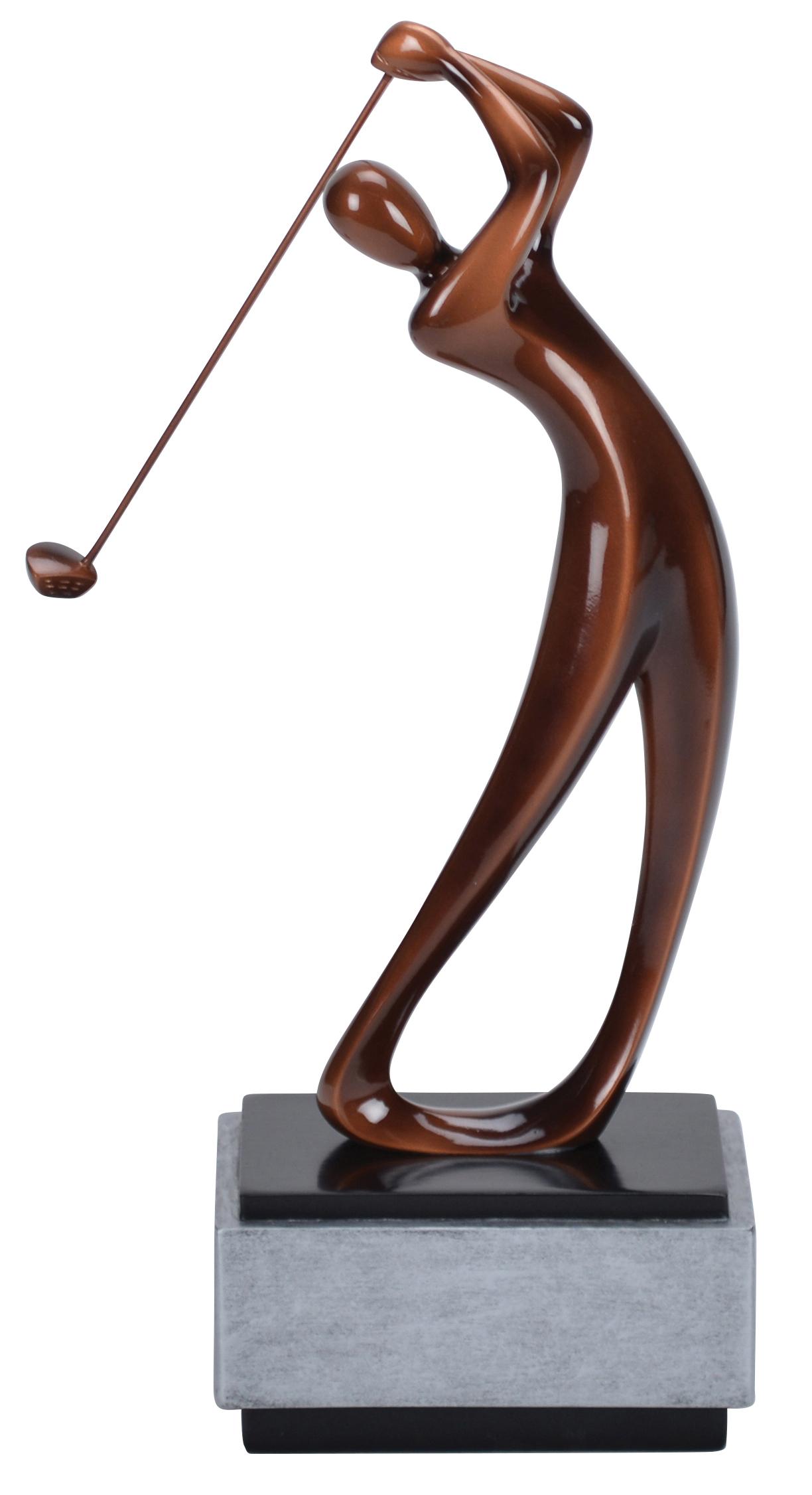 "Modern Golf Resin - Male    Large -  69621-Z - 16"" tall -  $106    Medium -  68621-Z - 14"" tall - $82    Small -  67621-Z - 12"" tall -  $58"