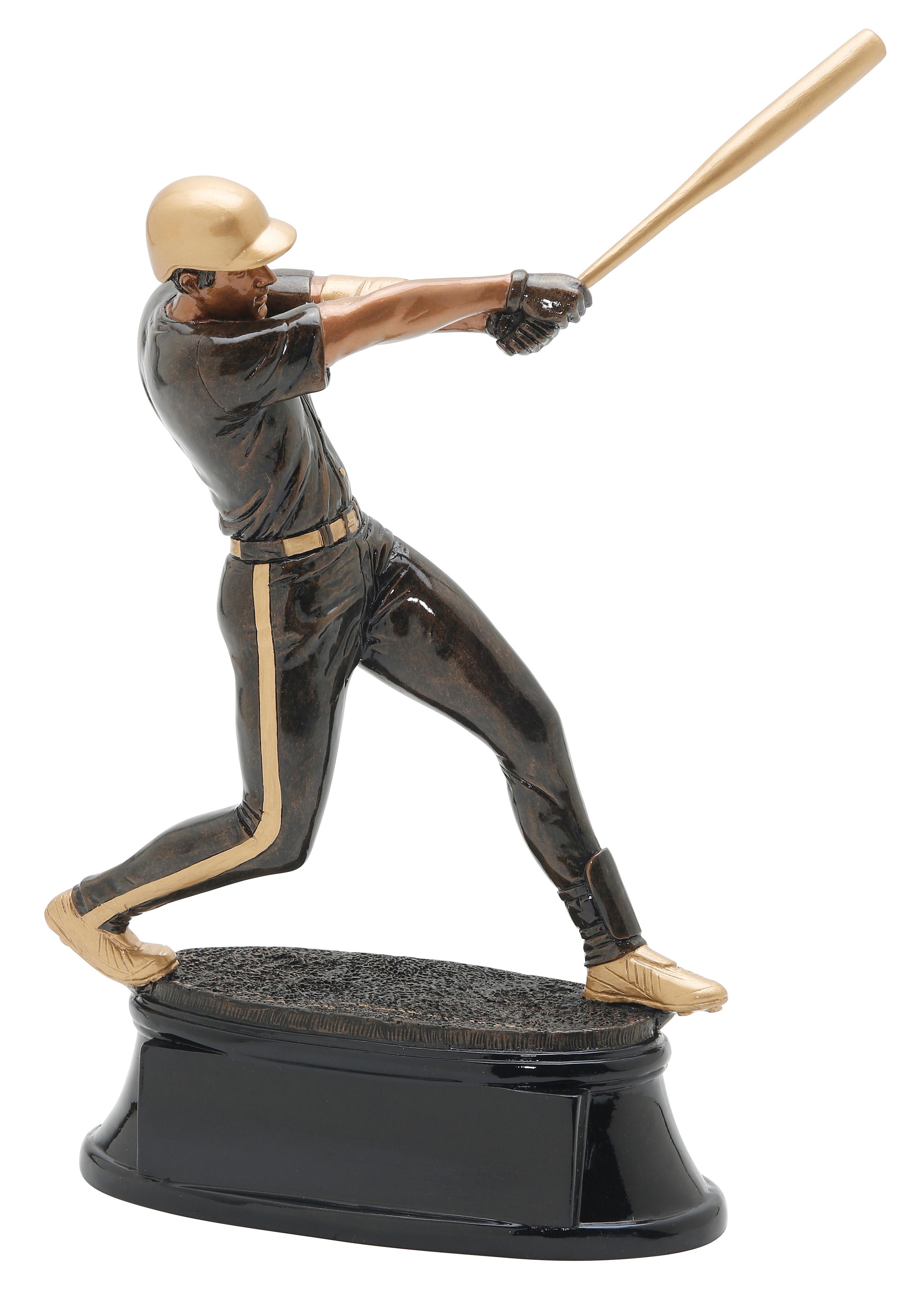 "Baseball -   X-Large - 90703GS - 11.5"" tall  Large - 90603GS - 9.5"" tall  Medium - 90503GS - 7.25"" tall  Small - 90403GS - 6"" tall"