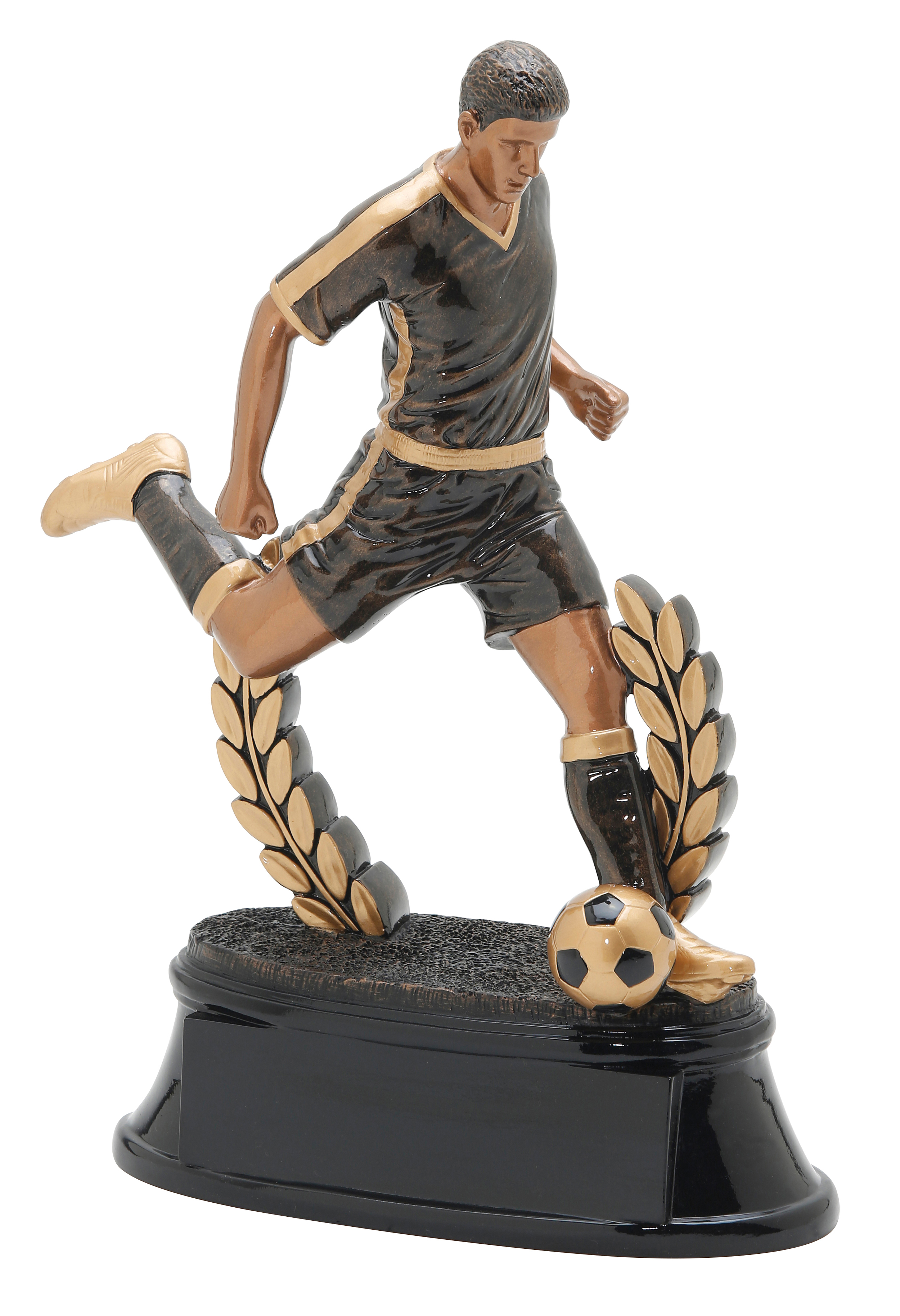 """Soccer- Male   X-Large - 90714GS - 11"""" tall  Large - 90614GS - 9.5"""" tall  Medium - 90514GS - 7.75"""" tall  Small - 90414GS - 6"""" tall"""