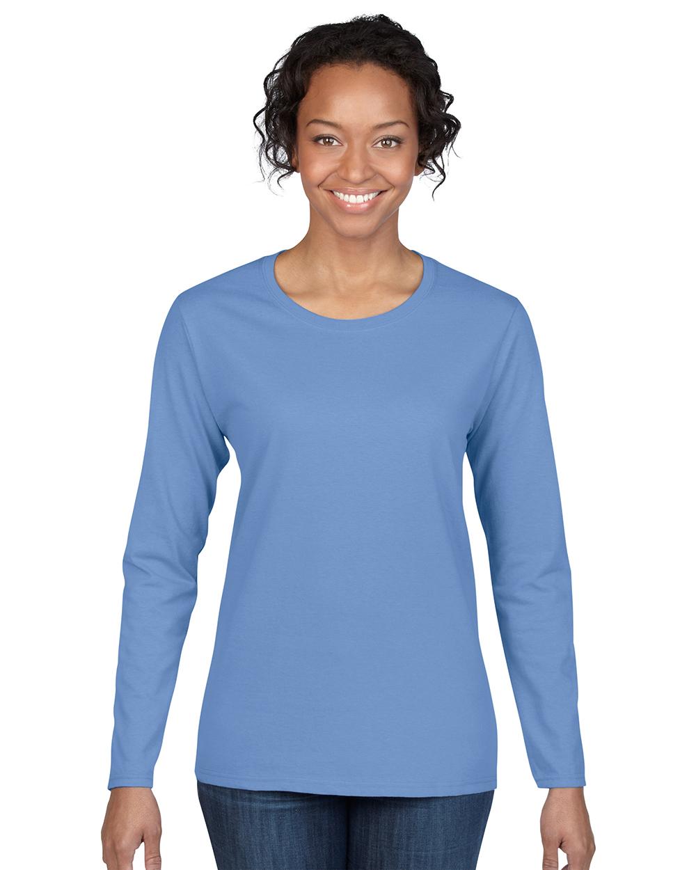 Gildan 5400L     Heavy Cotton™    Adult Missy Fit Ladies Long Sleeve T-Shirt    5.3 oz. 100% Cotton
