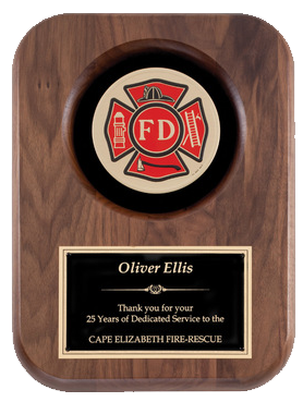 Firefighter Plaque Series