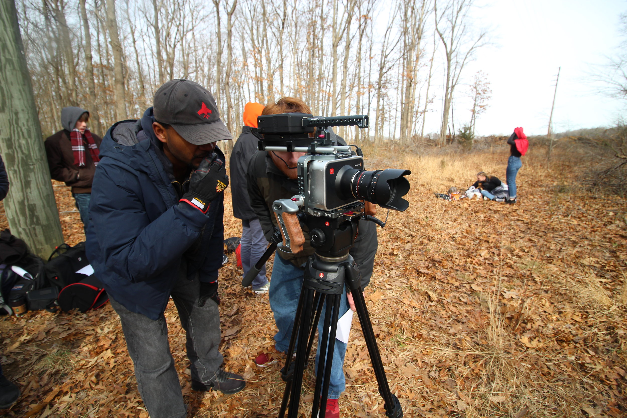 "Rashard Casey (VP) sets the scene with ""Red"" director Patrick McGowan."