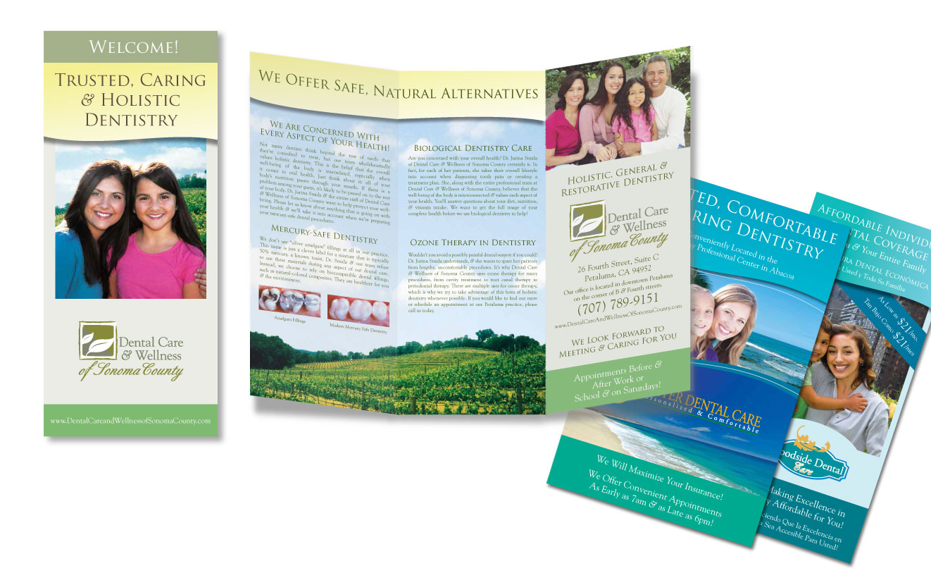 Graphic Designer: Marketing Collateral - Print   Retouched photos & worked with typography, iconography & color correction in designing layouts for printed brochures & postcards. Prepared files for pre-press production.  Employer: Chrisad, Inc.