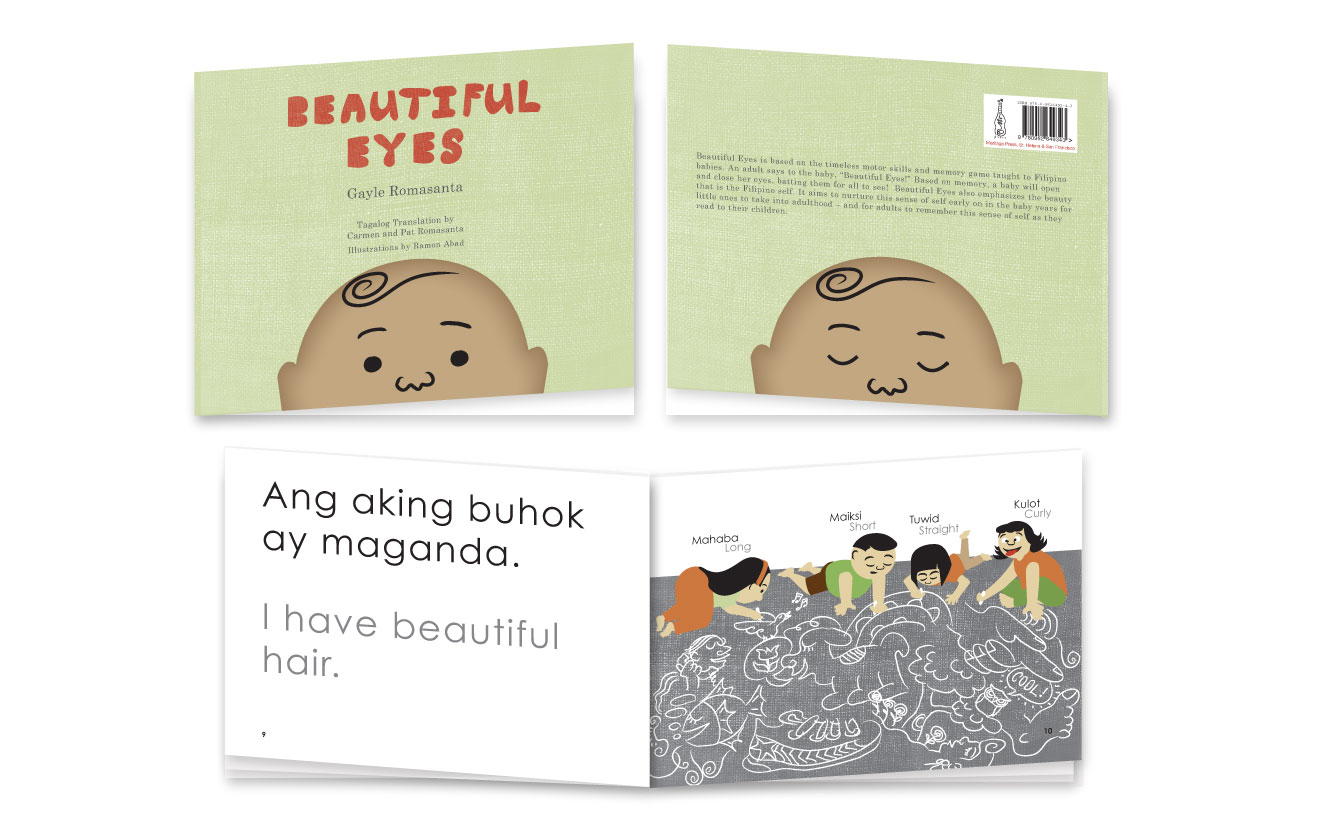 Illustrator/Graphic Designer: Children's Book Publication   Illustrated & designed the layout of a English-Tagalog bilingual children's book. Used in the curriculum of the San Francisco Unified School District's Early Reading Program.  Author: Gayle Romasanta  Publisher: Meritage Press