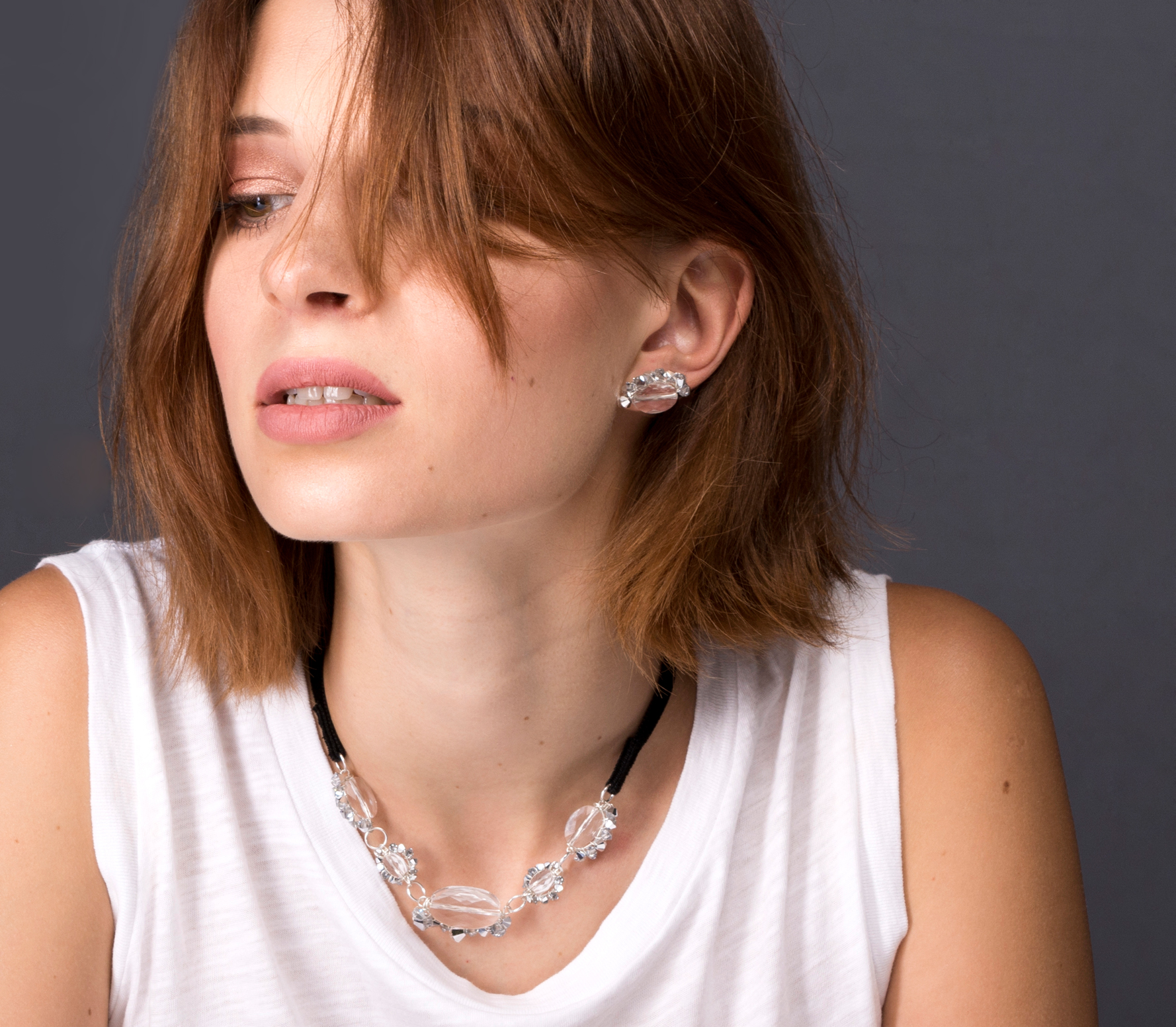 Desideri design silver necklace and earrings swarovski crystals 2.jpg