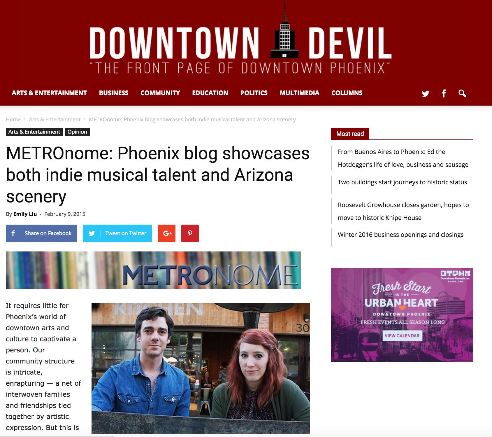 Downtown Devil - Underground Alt