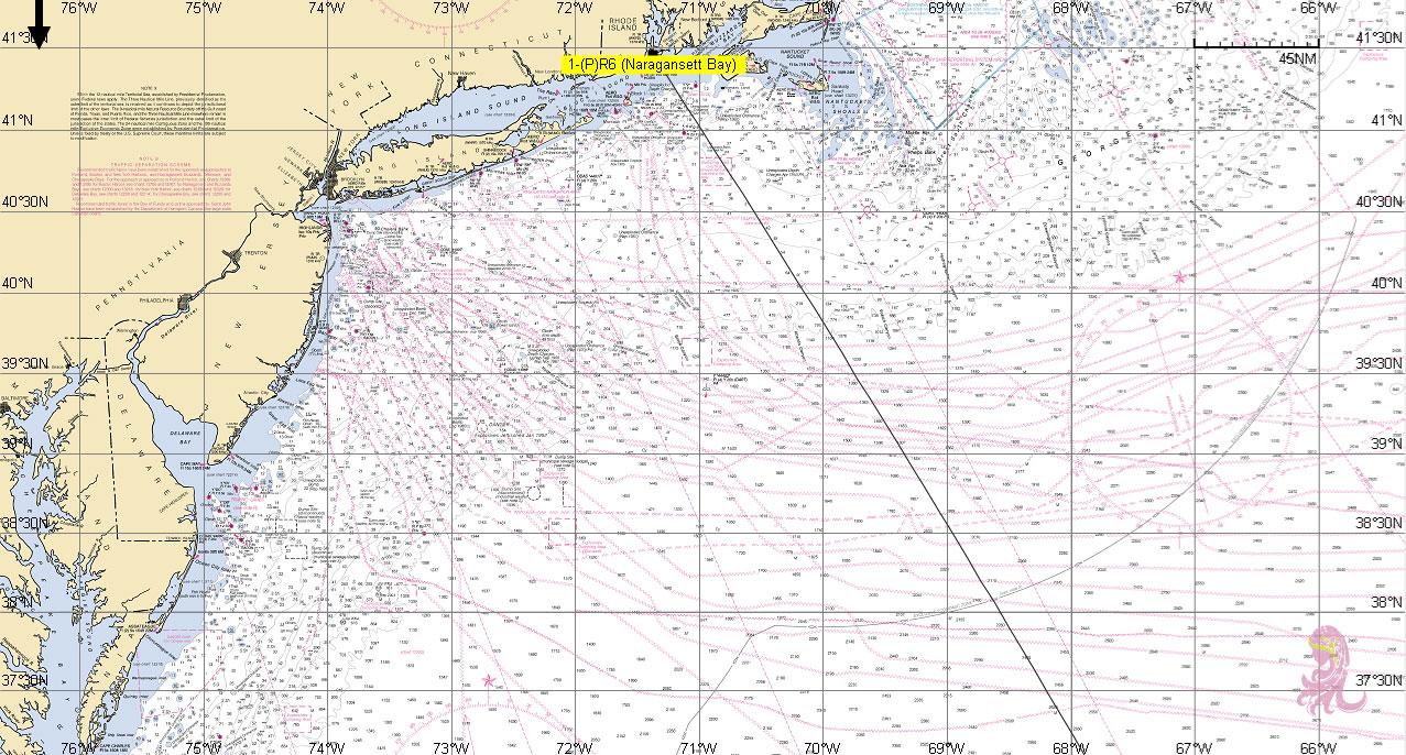 Newport-Bermuda Chart