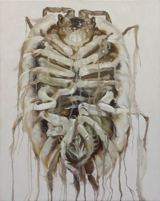 "Vulgare   24 x 31"" Oil on canvas  2013"