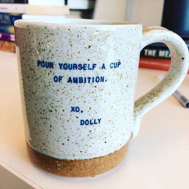 @ninasabina24 and @whitneyhighfield gave me the best mug 😍
