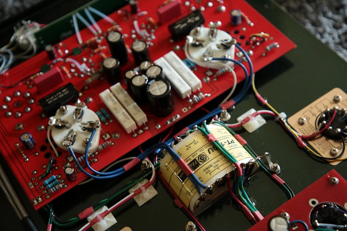 The HASHIMOTO are built for life. And its not a miracle a lot of SANSUI amps are still playing loud and proud today. There is NO substitue, and when equipped, every Triode Lab amps became an investment too, and a future classic.