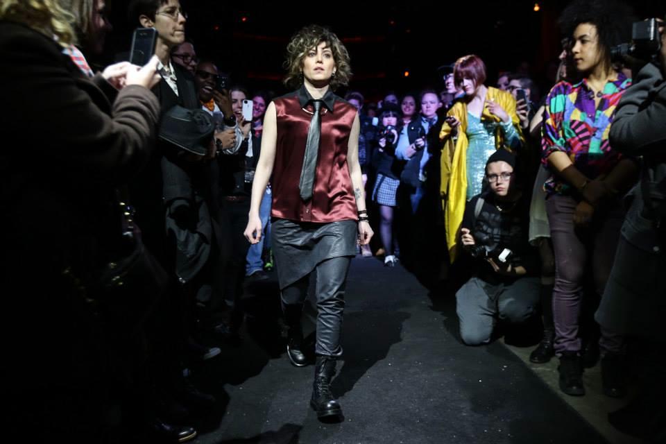 Model Lani Buess wearing designer Angie Chuang | Photography by  Grace Chu