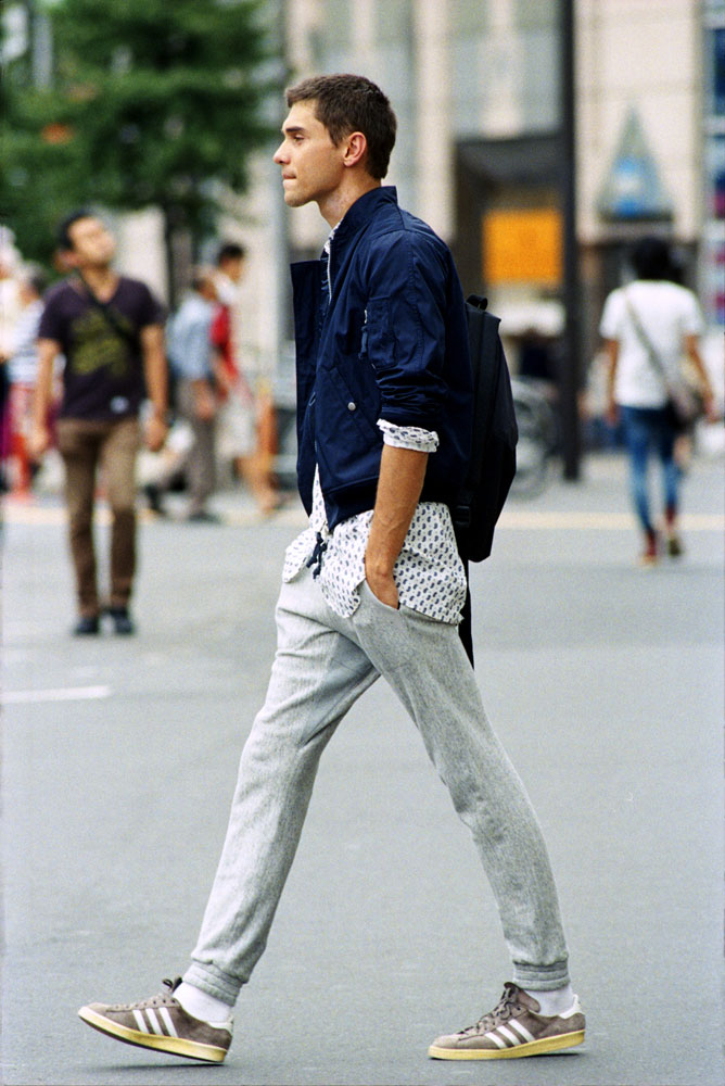 Sweats and sneakers done right | From:  adaymag.com