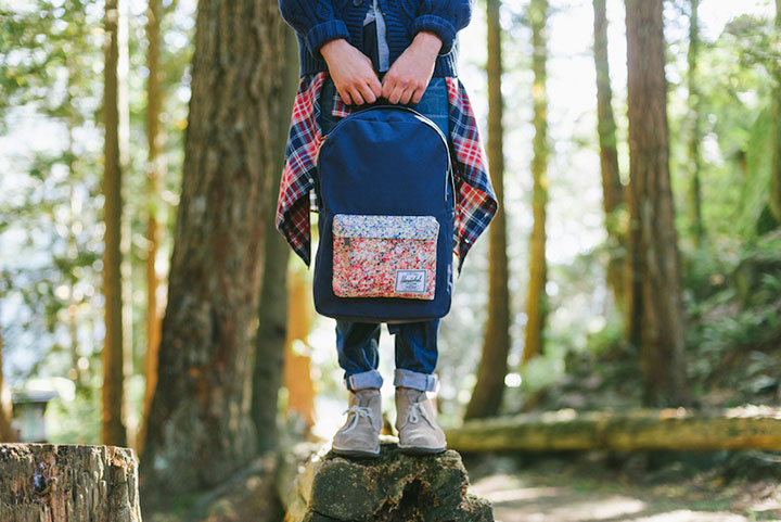 Herschel Supply Co. X Liberty 2014 Spring Series. I love the camping style inspiration. | from:  adaymag.com