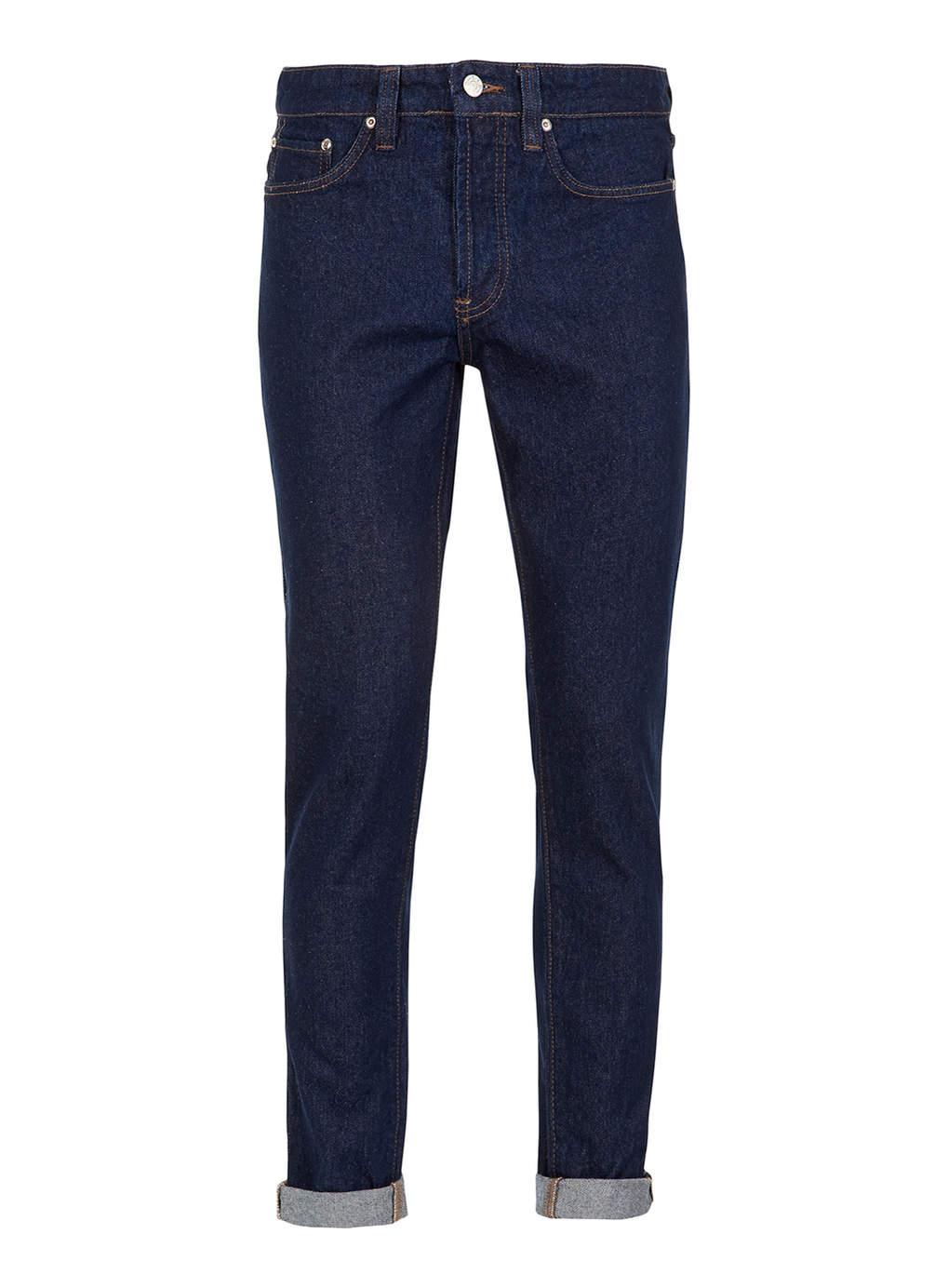Light Wash Retro Skinny Jeans, $76