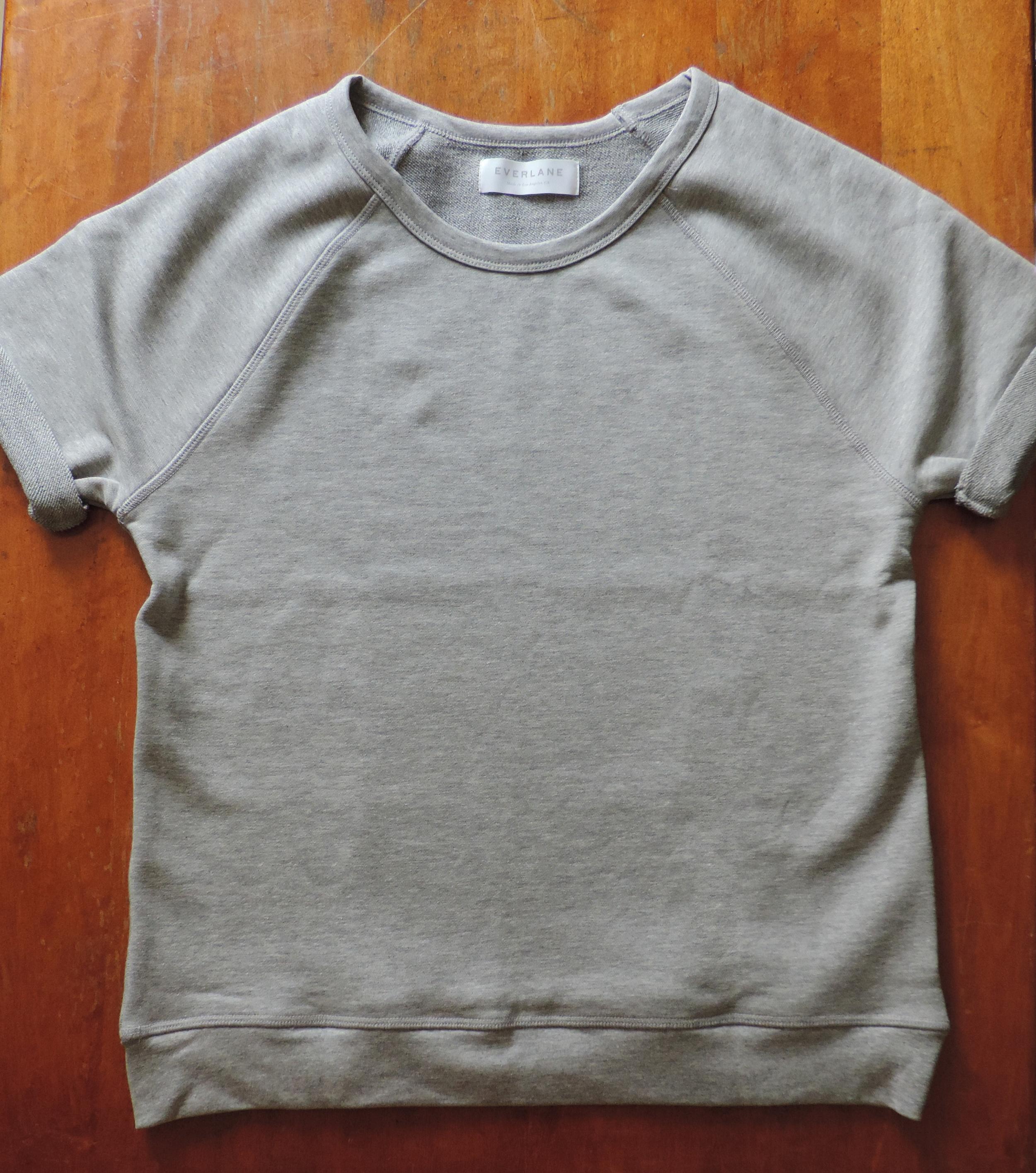 Everlane Women's Short Sleeve Sweater