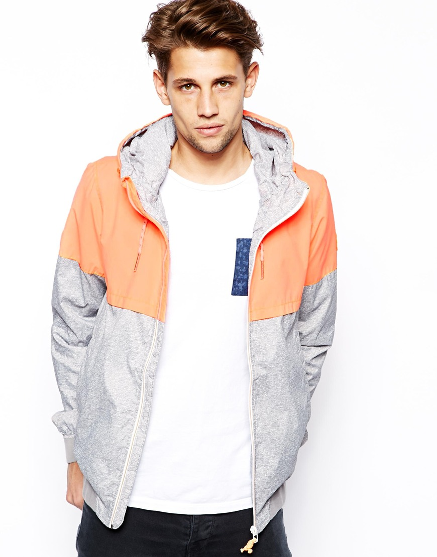 Pull&Bear Bomber Jacket with Hood, $56.42 at  ASOS