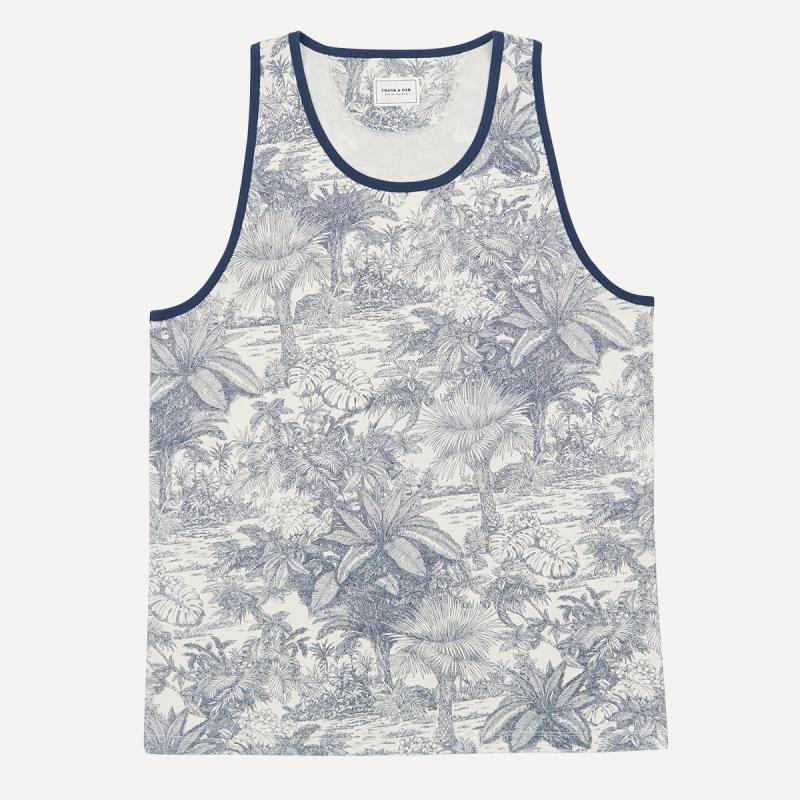 Floral Print Tank Top, $28 at  Frank and Oak