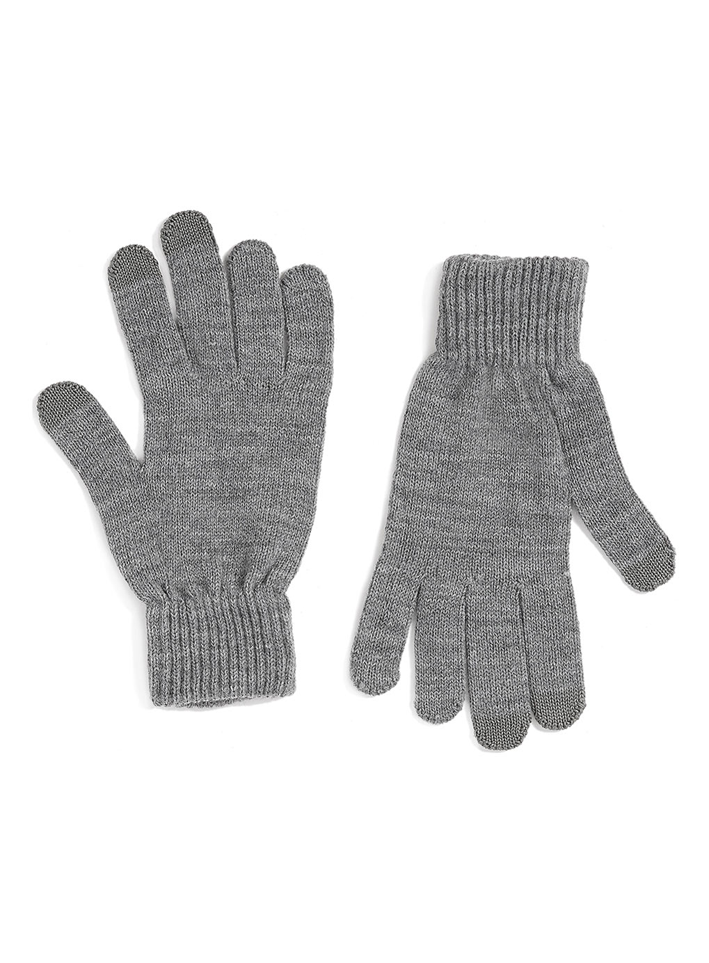 Grey Touchscreen Gloves , was$12,  now $9.60