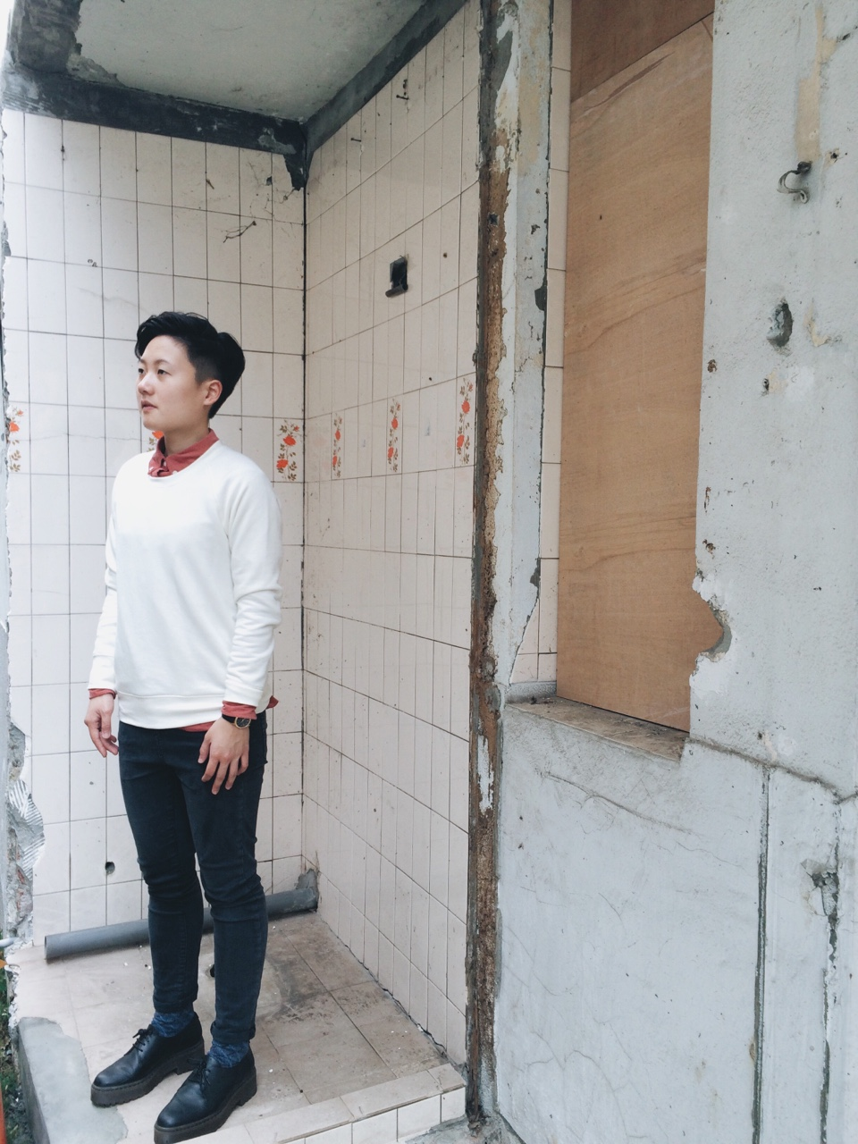 """""""Strolling in the old City"""" / Model:Wen Liu"""