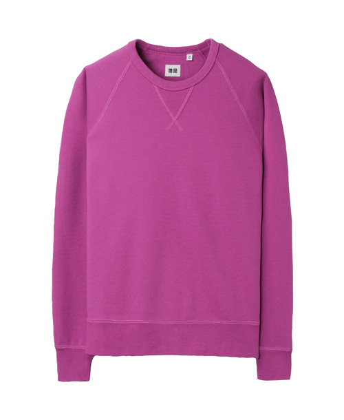 Men's sweat long sleeve shirt , $19.90 at Uniqlo