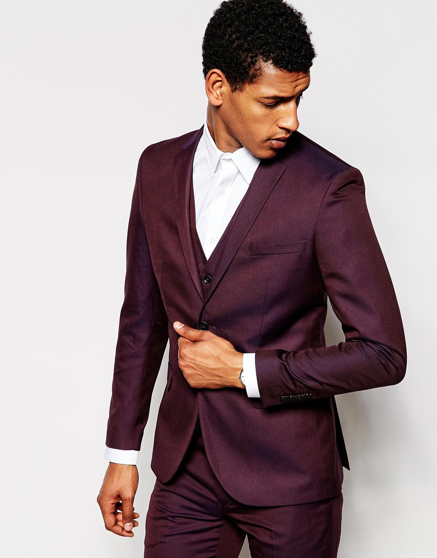 Selected Homme Exclusive Suit Jacket in Skinny Fit