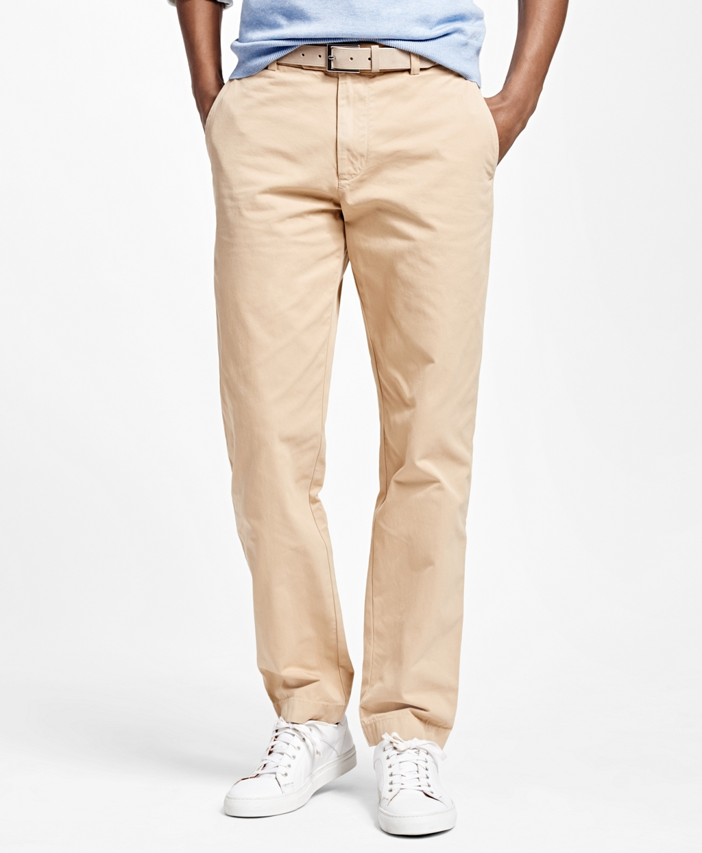 Milano Fit Garment-Dyed Chinos, $98.50