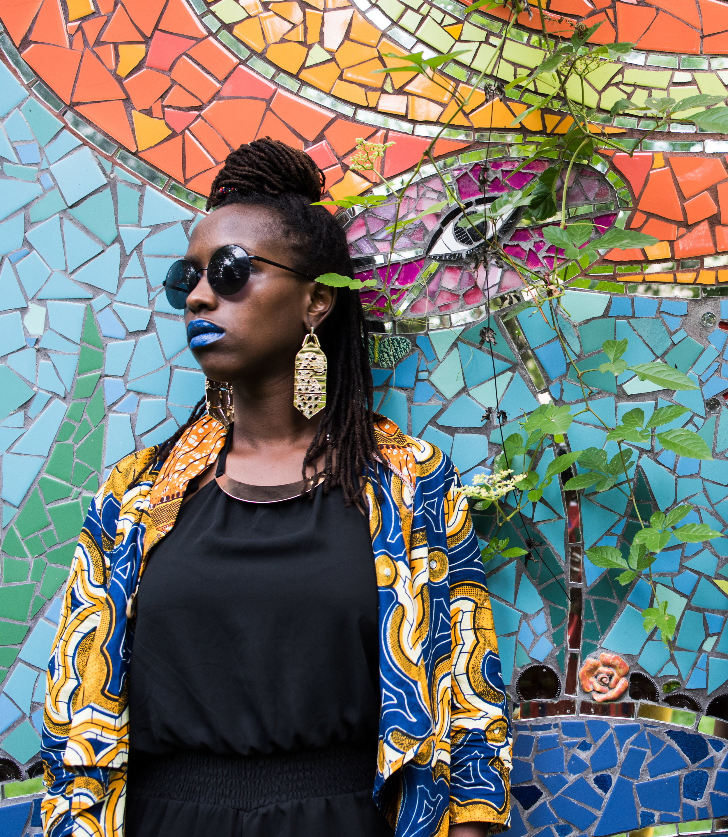 "Mwende ""FreeQuency"" Katwiwa /  14 Femmes of Color Whose Style We Adore  / Photo by Danielle C Miles"