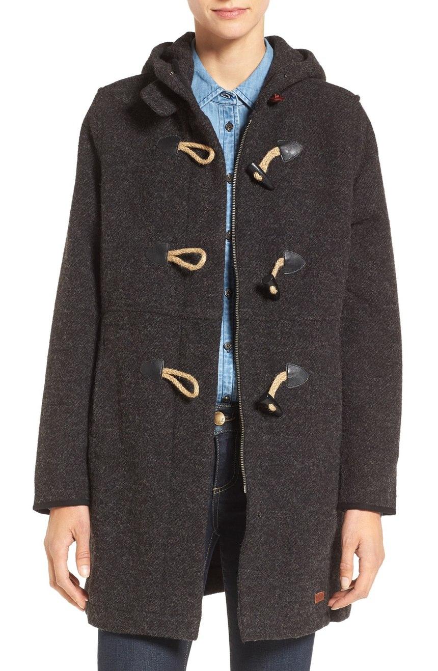 Woolrich  Century Wool Blend Duffle Coat - Now: $166.39